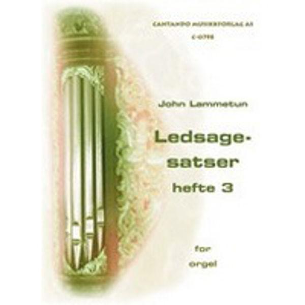 Ledsagesatser til Norsk Koralbok, hefte 3 - Orgel