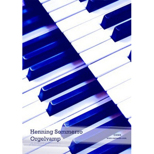 Orgelvamp -Vampsanger arrangert for orgel - Orgel