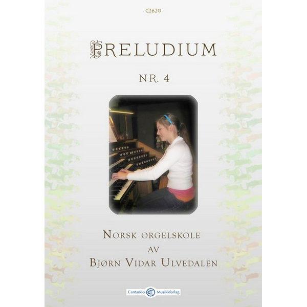 Preludium 4 - Norsk Orgelskole - Ung Koralbok av Bjørn Vidar Ulvedalen