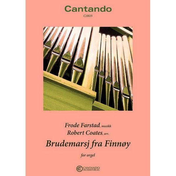 Brudemarsj fra Finnøy (Robert Coates) - Orgel