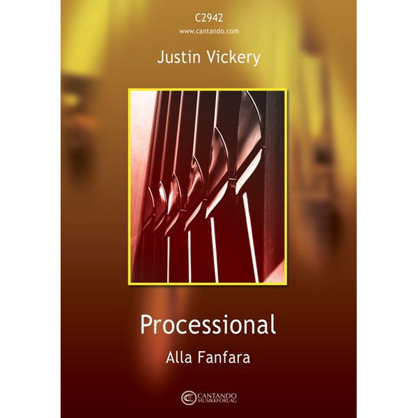 Processional-Alla Fanfara (Justin M.Vickery) - Orgel