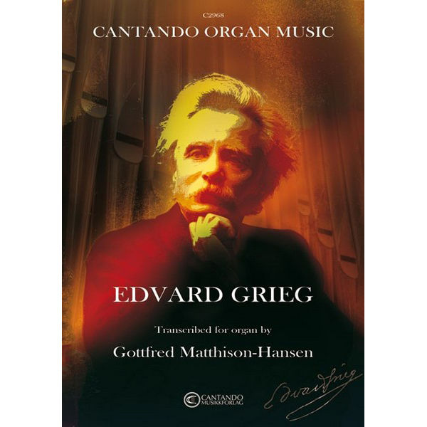Music by Edvard Grieg trancribed for organ - Orgel