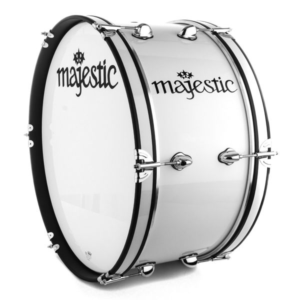 Marsjstortromme Majestic Contender CBS2210, White, 22x10, 5,6kg