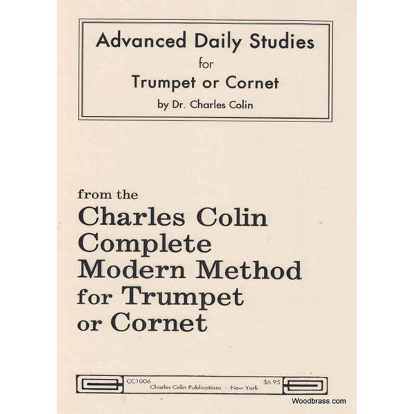 Advanced daily studies for trumpet - Colin