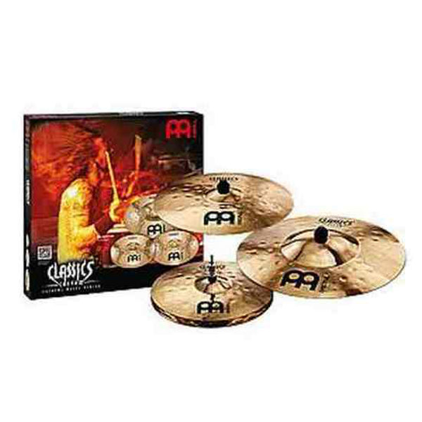 Cymbalpakke Meinl Classics Custom Extreme Metal 14-18-20
