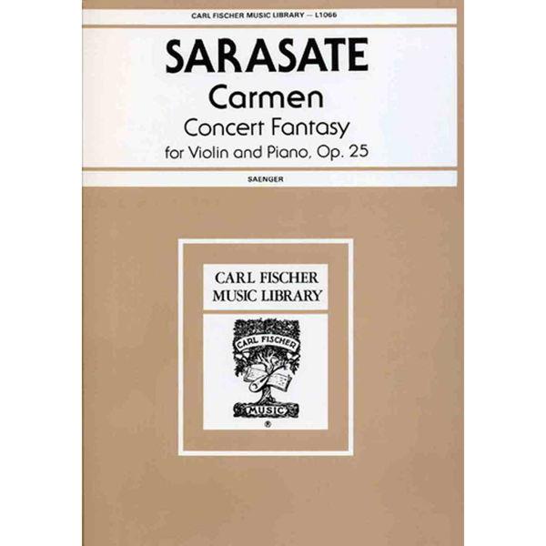 Carmen Concert-Fantasy, Op.25, Sarasate - Fiolin m/piano