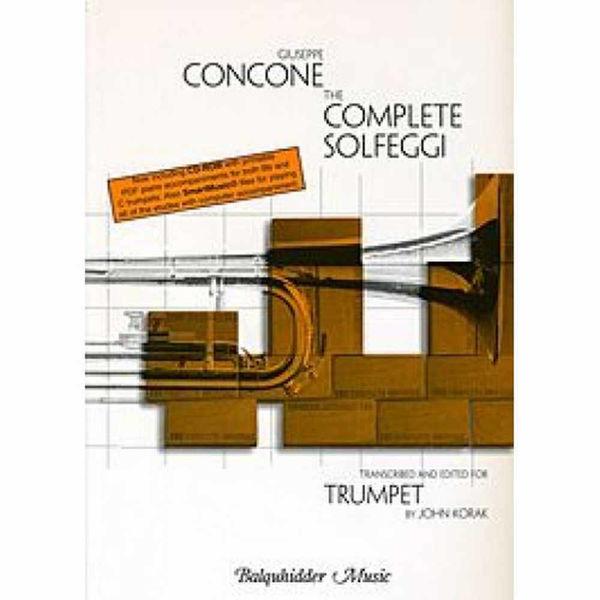 Concone The complete Solfeggi for Trumpet by Korak