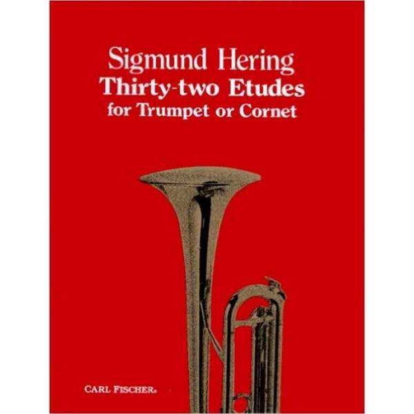 32 Etudes for Trumpet, (Thirty-Two), Sigmund Hering