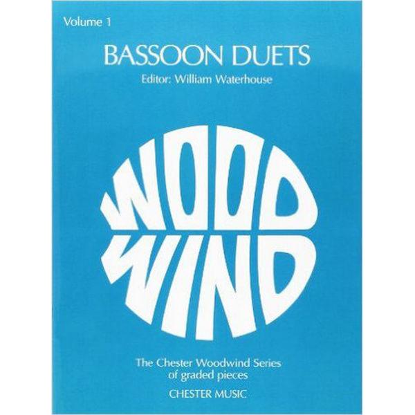 Bassoon Duets Volum 1, Editor William Waterhouse