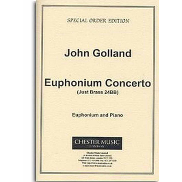 Euphonium Concerto, John Golland. Euphonium/Piano