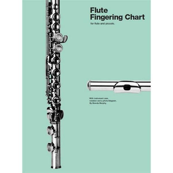 Greptabell Fløyte - Flute Fingering Chart
