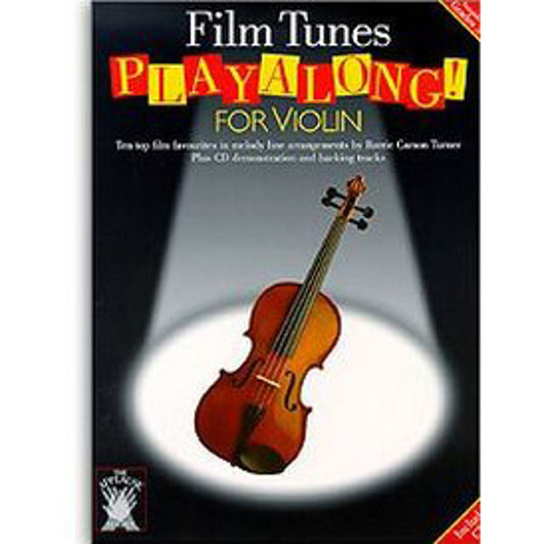 Film Tunes Play-Along for Violin