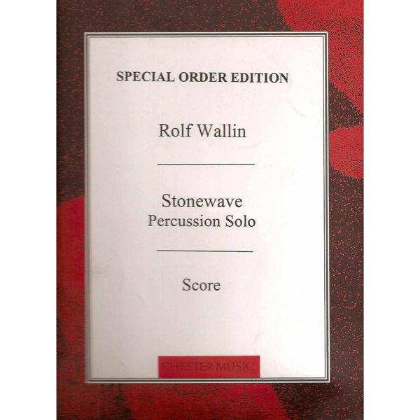 Stonewave, Rolf Wallin, Percussion Solo
