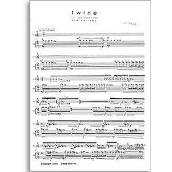 Twine Xylophone/Marimba Score, Rolf Wallin