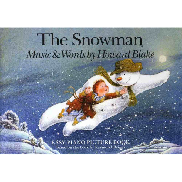 The Snowman Easy Piano Picture Book, Howard Blake