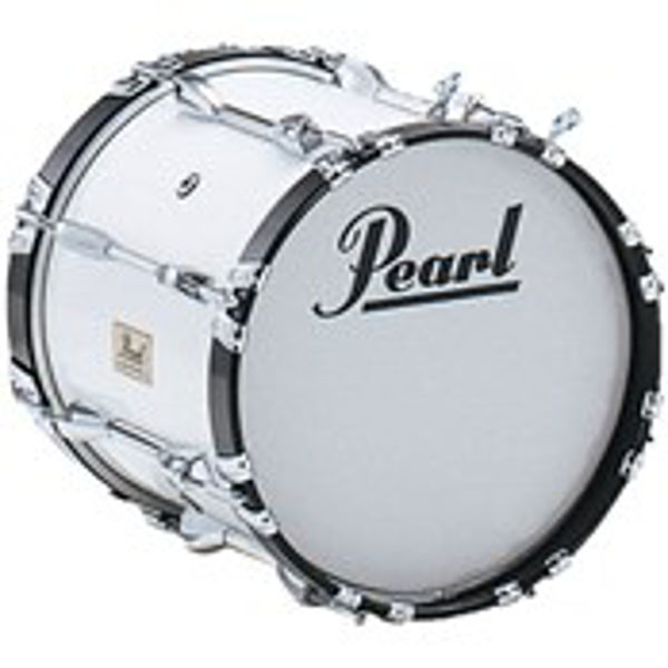 Marsjstortromme Pearl Competitor CMB1814N/C33, 18x14, White, 6,4kg