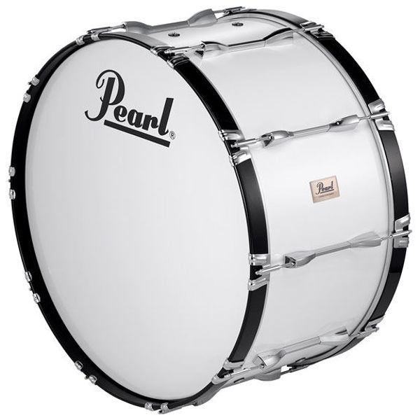 Marsjstortromme Pearl Competitor CMB2214N/C33, 22x14, White