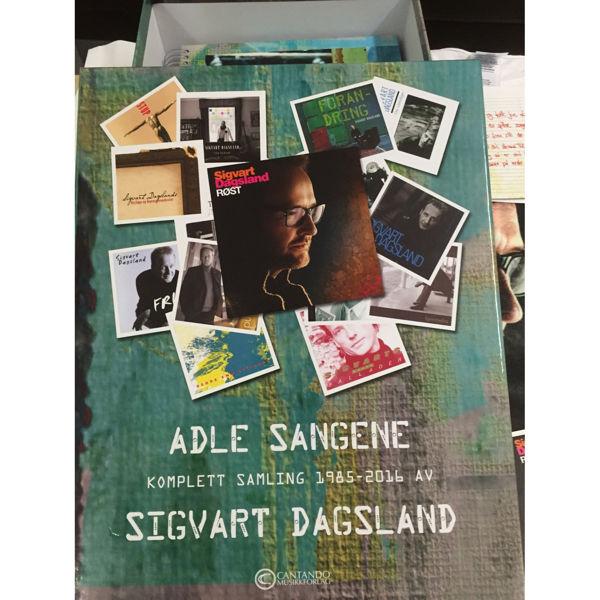 Adle sangene - Sigvart Dagsland komplett samling 1985-2016 - Large