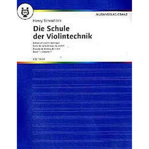 Die Schule der Violintechnik Vol 1, Henry Schradieck