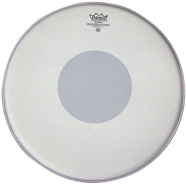 Trommeskinn Remo Controlled Sound CS-0114-10, White Coated Black Dot 14