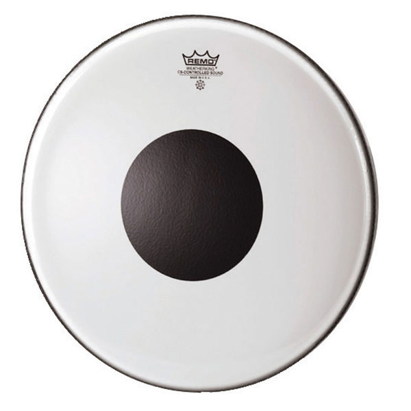 Trommeskinn Remo Controlled Sound CS-0310-10, Clear Black Dot, 10