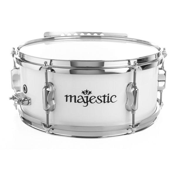 Skarptromme Majestic Contender CSS1306, White, 13x6 Strap Style, 2,8kg