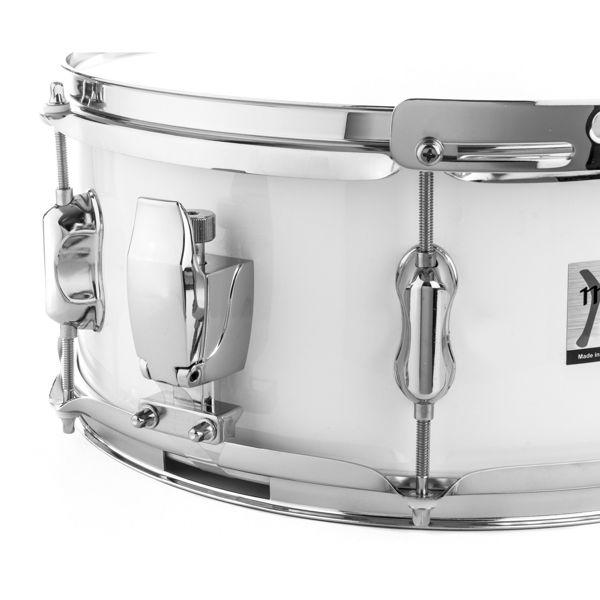 Skarptromme Majestic Contender CSS1406, White, 14x6 Strap Style, 3,4kg