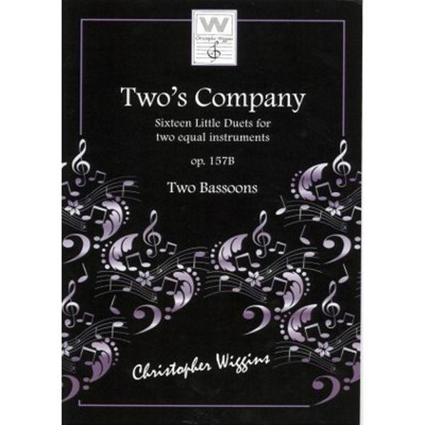 Two's Company (Fagott) op. 157b, Christopher D. Wiggins