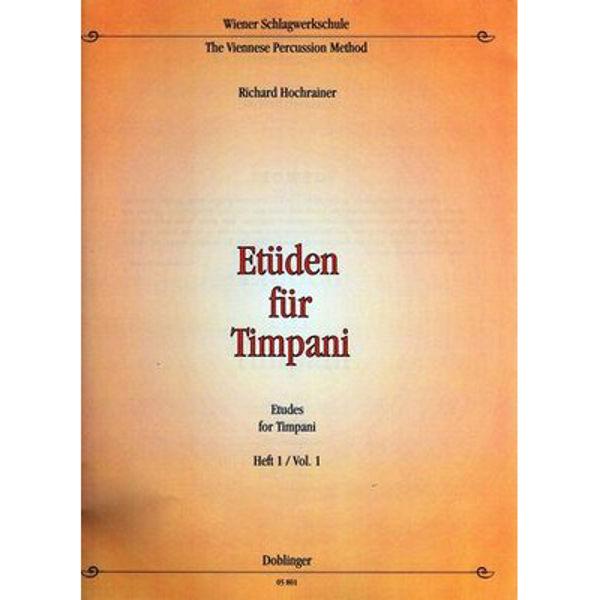 Etuden Fur Timpani Vol.1, Richard Hochrainer