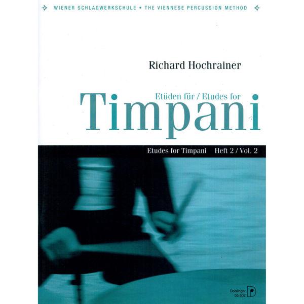 Etuden Fur Timpani Vol.2, Richard Hochrainer