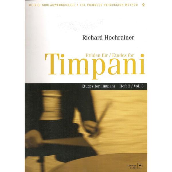 Etuden Fur Timpani Vol.3, Richard Hochrainer