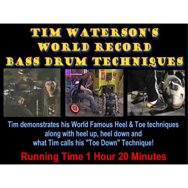 DVD Tim Waterson Record Bass Drum Technique