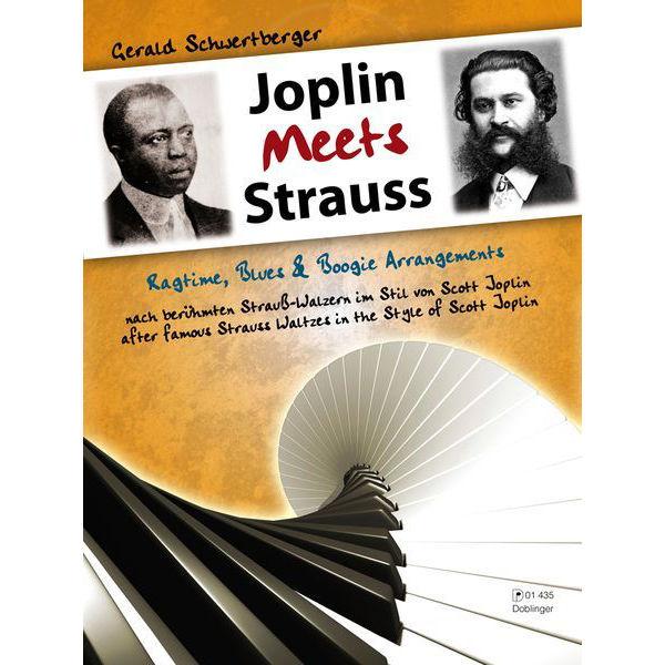 Joplin Meets Strauss. Gerald Schwertberger. Piano