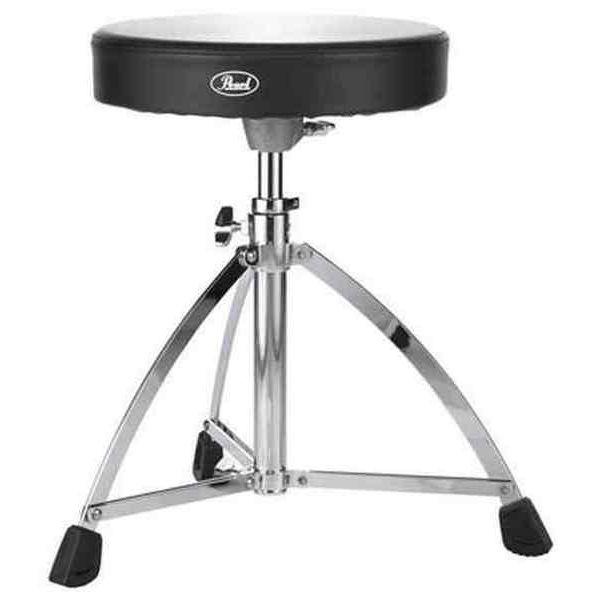 Trommestol Pearl D-730S, Single Brace, Drummers Throne