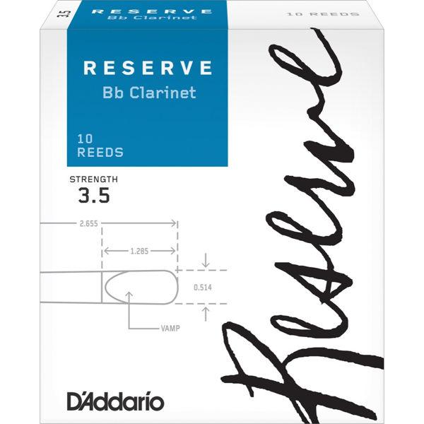Klarinettrør Rico D'Addario Reserve 3,5
