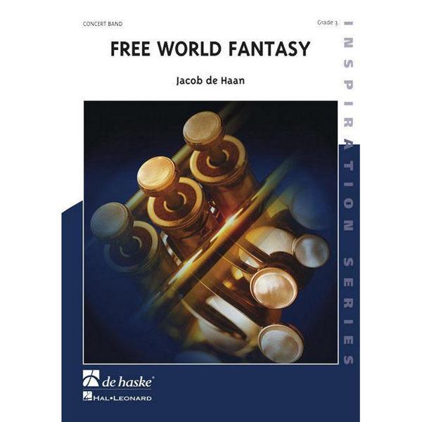 Free World Fantasy, Jacob de Haan. Concert Band