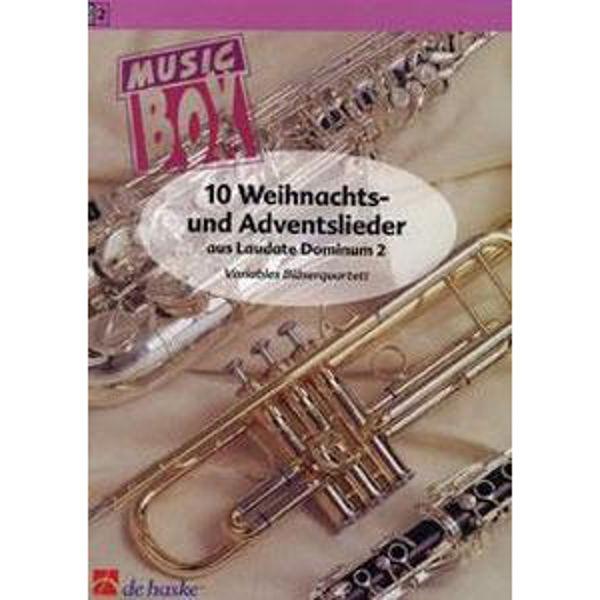 10 Weihnachts- und Adventslieder,  - Brass Band