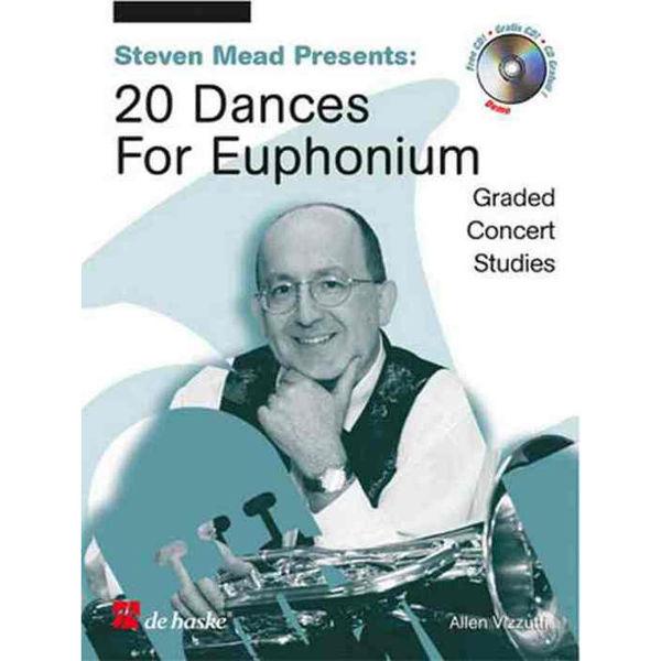 20 dances for Euphonium m/cd - Steven Mead BC