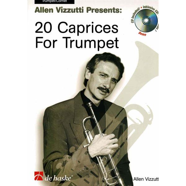 20 Caprices for Trumpet, Allen Vizzutti, Trumpet Book+CD