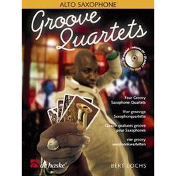 Groove Quartets, Altsaksofon m/CD