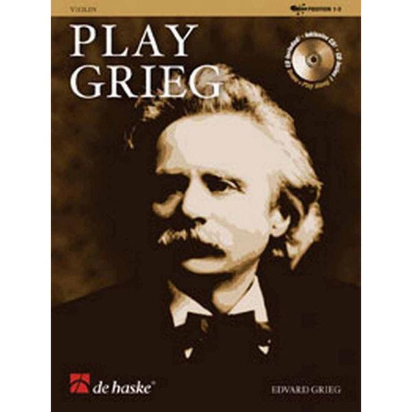 Play Grieg Clarinet Bb Book+CD