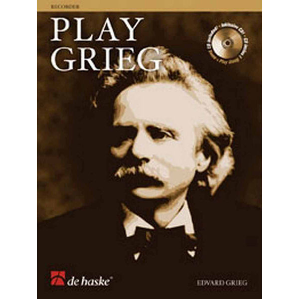 Play Grieg Recorder/Blokkfløyte Book+CD
