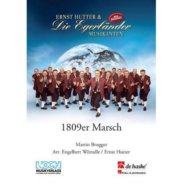 1809er Marsch, Brugger / Hutter - Concert Band