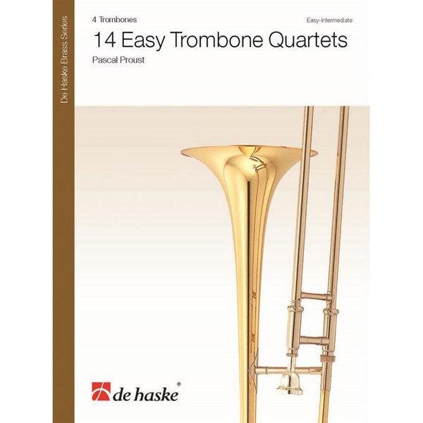 14 Easy Trombone Quartets arr Pascal Proust