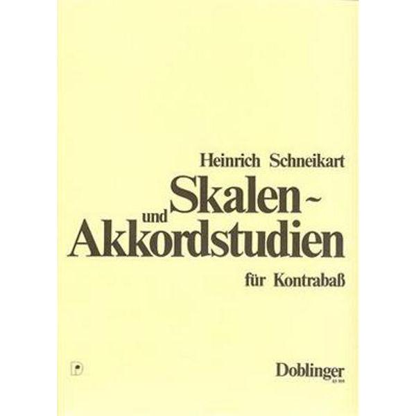 Skalen- und Akkordstudien fur Kontrabass, Heinrich Schneikart