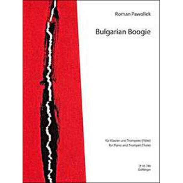 Bulgarian Boogie for piano og trompet. Roman Pawollek