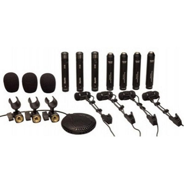 Mikrofonsett Superlux DRK-681 Til Trommer, 8 stk. Kondensator Sett