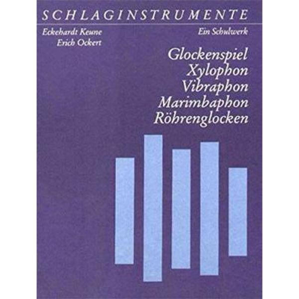 Schlaginstrumente Eckehardt Keune, Part 4: Glockenspiel, Xylophon, Vibraphon, Marimbaphon, Röhrenglocken