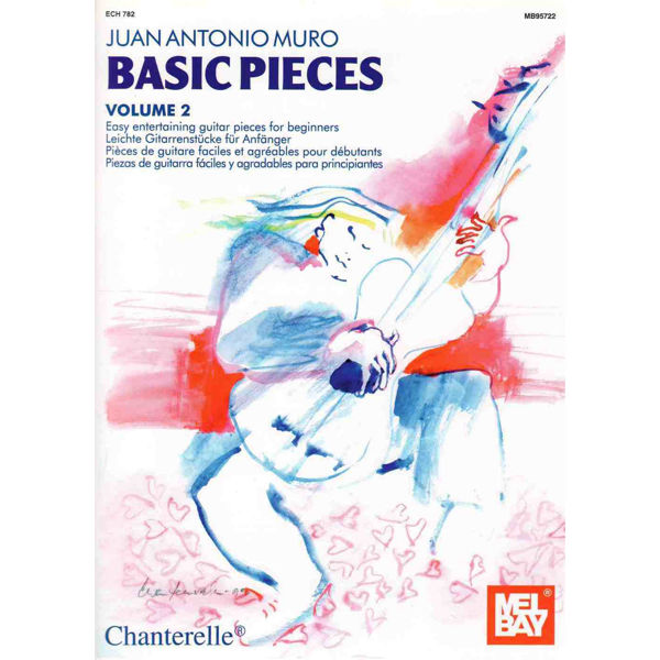 Basic pieces vol 2 Guitar, Book. Juan Antonio Muro
