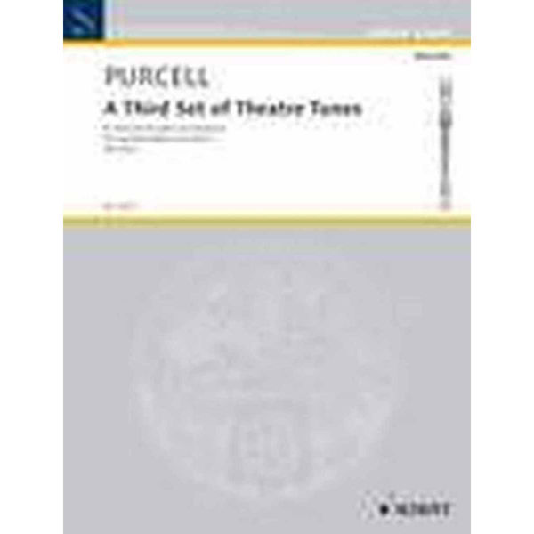 A Third Set of Theatre Tunes for Descant Recorder and Keyboard, Purcell